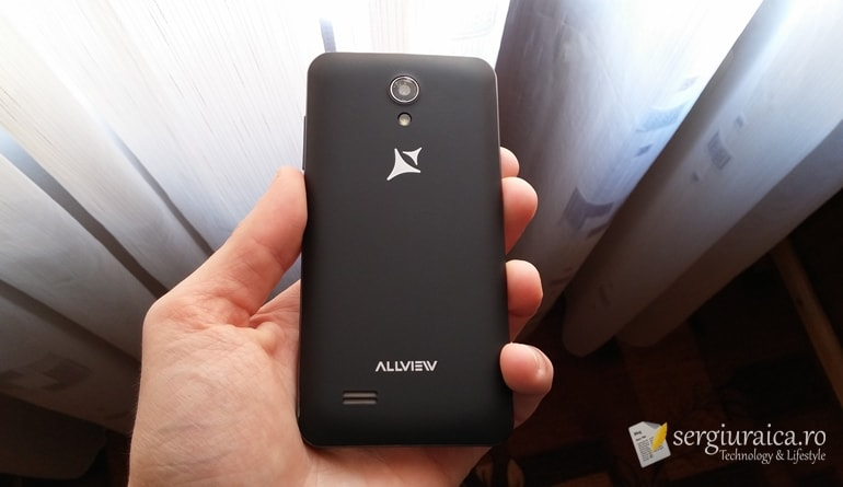 Allview A5 Easy - cameră foto