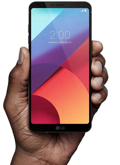 LG G6 - display & raport ecran / corp