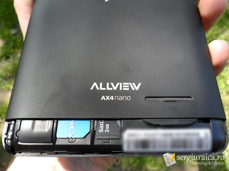 Allview AX4 Nano - conectivitate