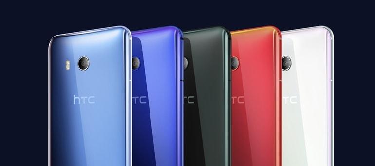 HTC U11 - variante de culoare