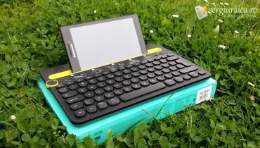 Logitech K480 Multi-Device review tastatură bluetooth