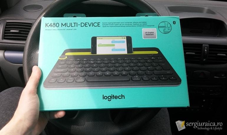Logitech K480 Multi-Device - ce găsim în pachet