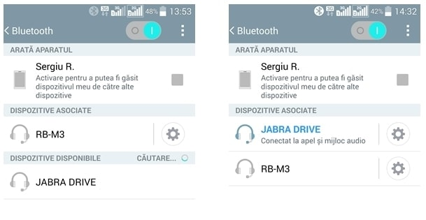 Jabra Drive imperechere telefon