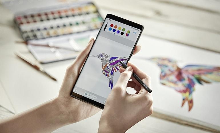 Samsung Galaxy Note 8 - stylus S Pen