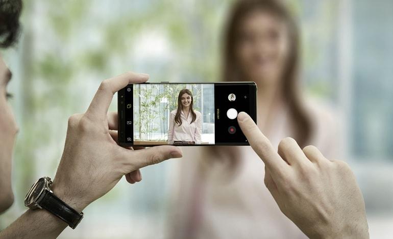 Samsung Galaxy Note 8 - cameră foto duală