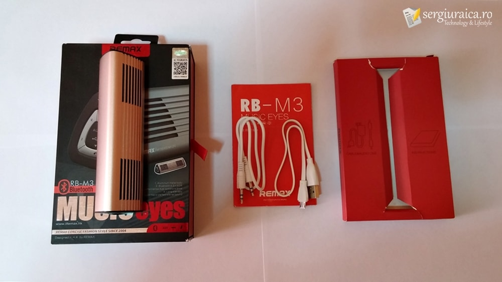Remax RB-M3 unboxing
