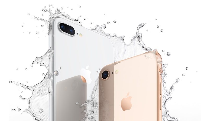 iPhone 8 & iPhone 8 Plus - certificare IP67 - rezistență apă și praf