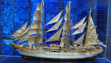macheta nava - Muzeul Marinei Române din Constanța