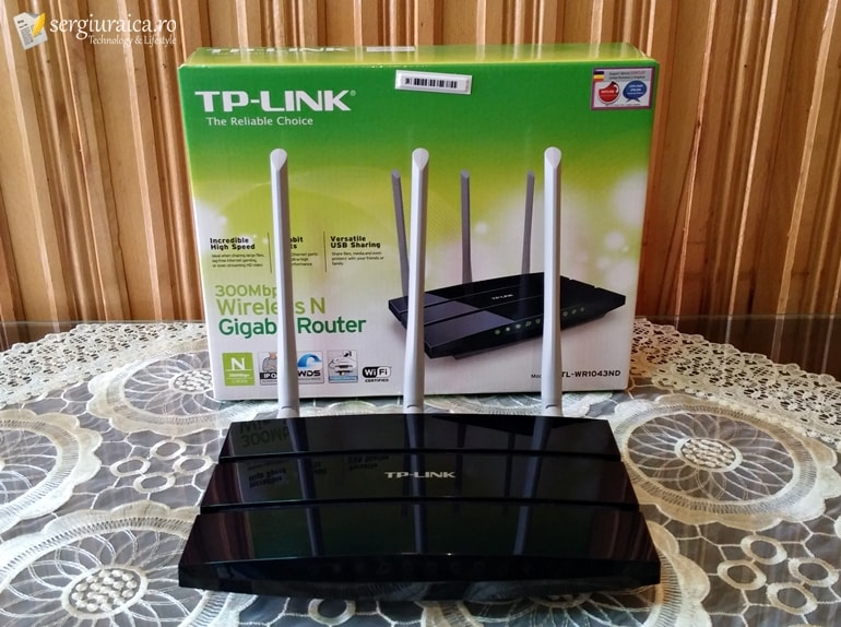 TP-Link TL-WR1043ND - cutie