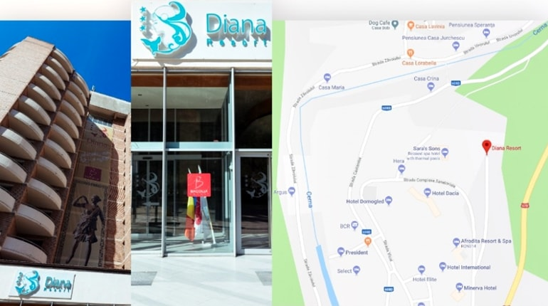 Hotel Diana Herculane - pareri