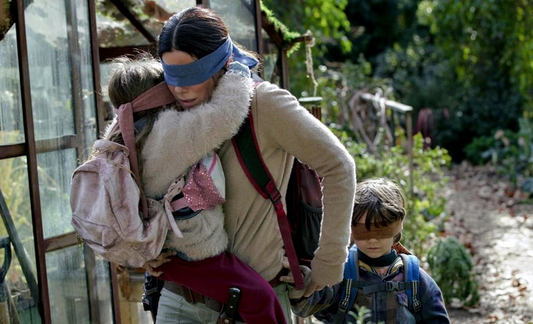 Bird Box Review - secvențe film